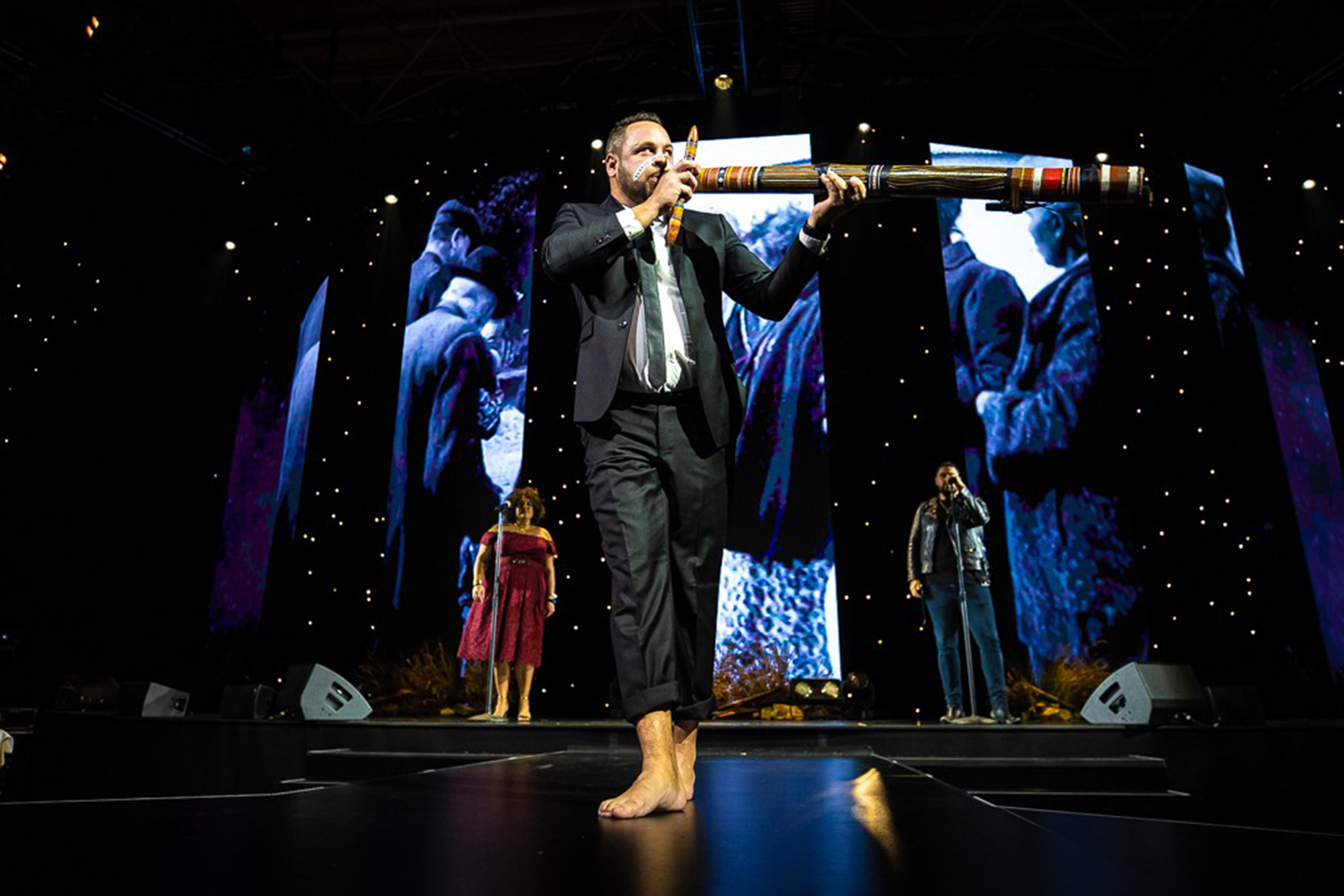 David Williams NAIDOC Awards 2019 didgeridoo